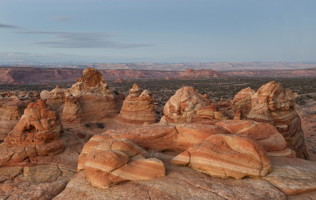 Sunset in the Cove - Vermilion Cliffs National Monument