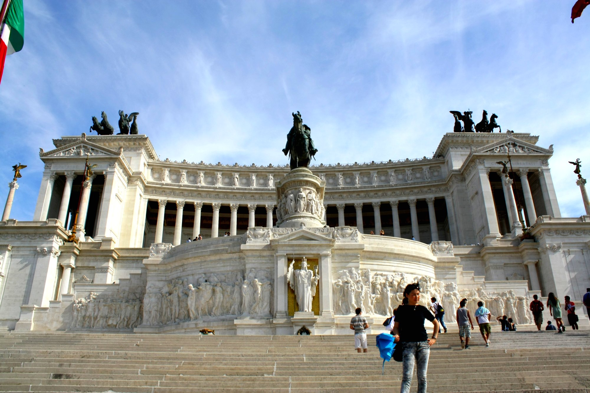 Monument Van Victor Emanuel.Victor Emmanuel Monument Monument In Rome Thousand Wonders