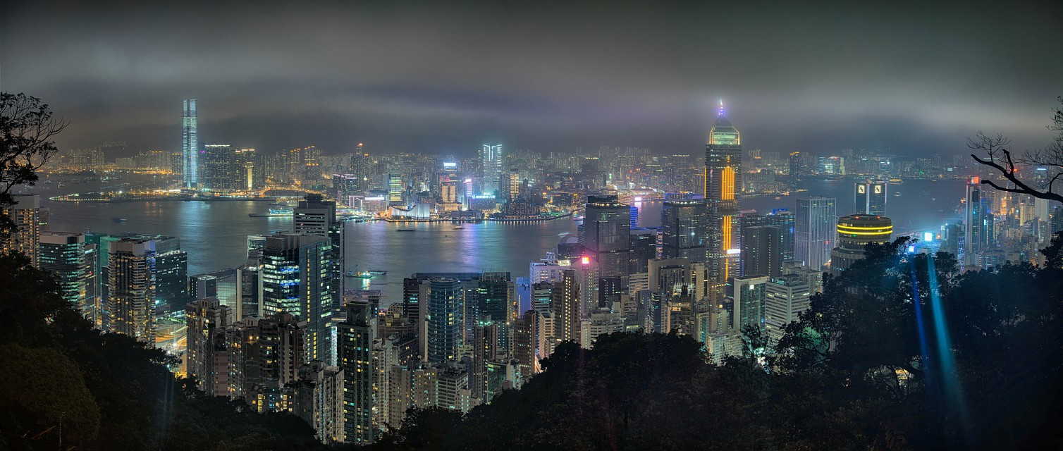 View towards Hong Kong from Victoria Peak - Victoria Peak