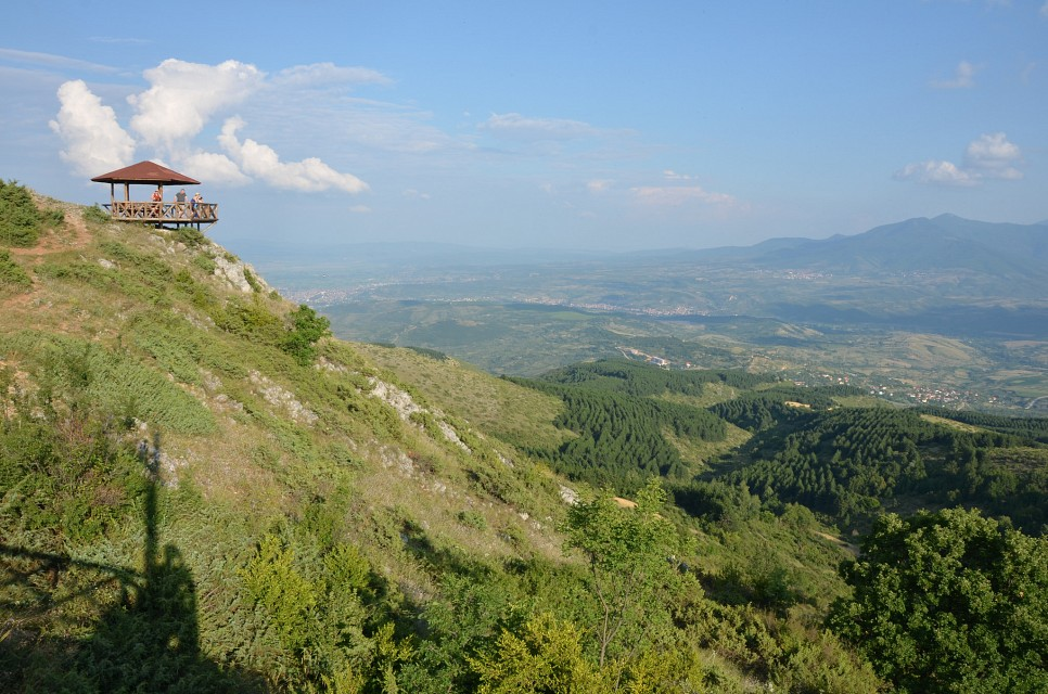 View from Mt. Vodno, Macedonia - Vodno
