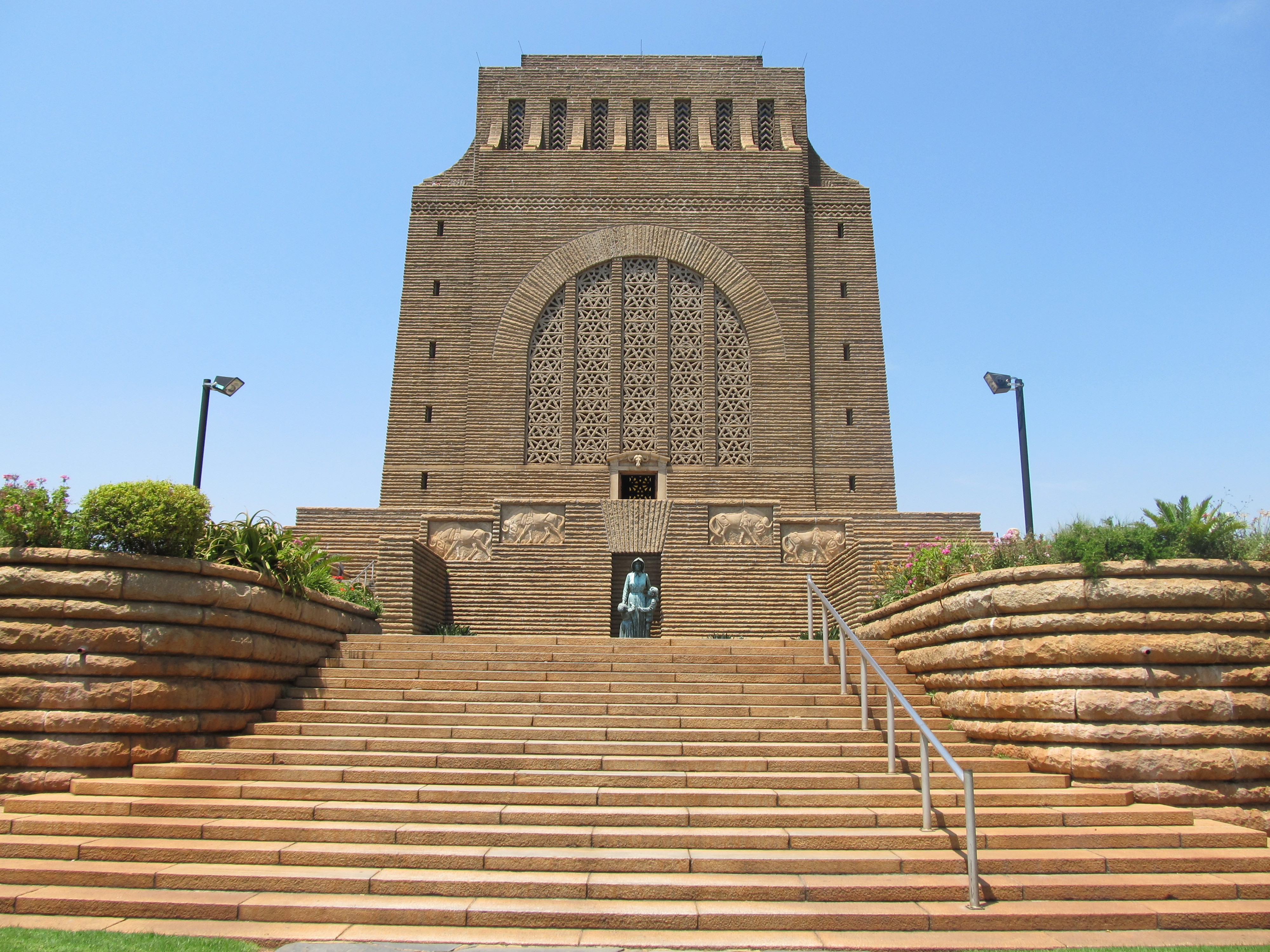 voortrekker monument operates as an architectural Three firms of architects were appointed in a joint venture (jv)  to  the voortrekker monument, associated strongly with the   including acts of genocide against the san, the frontier.