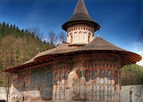 Voroneţ Monastery - The Painted