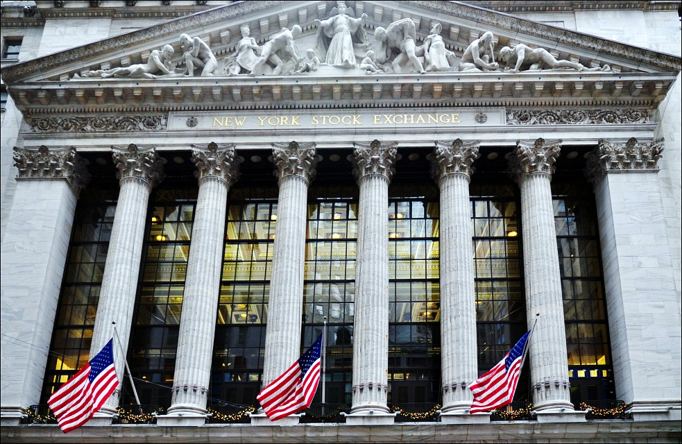 New York Stock Exchange / (NYSE) - Wall Street