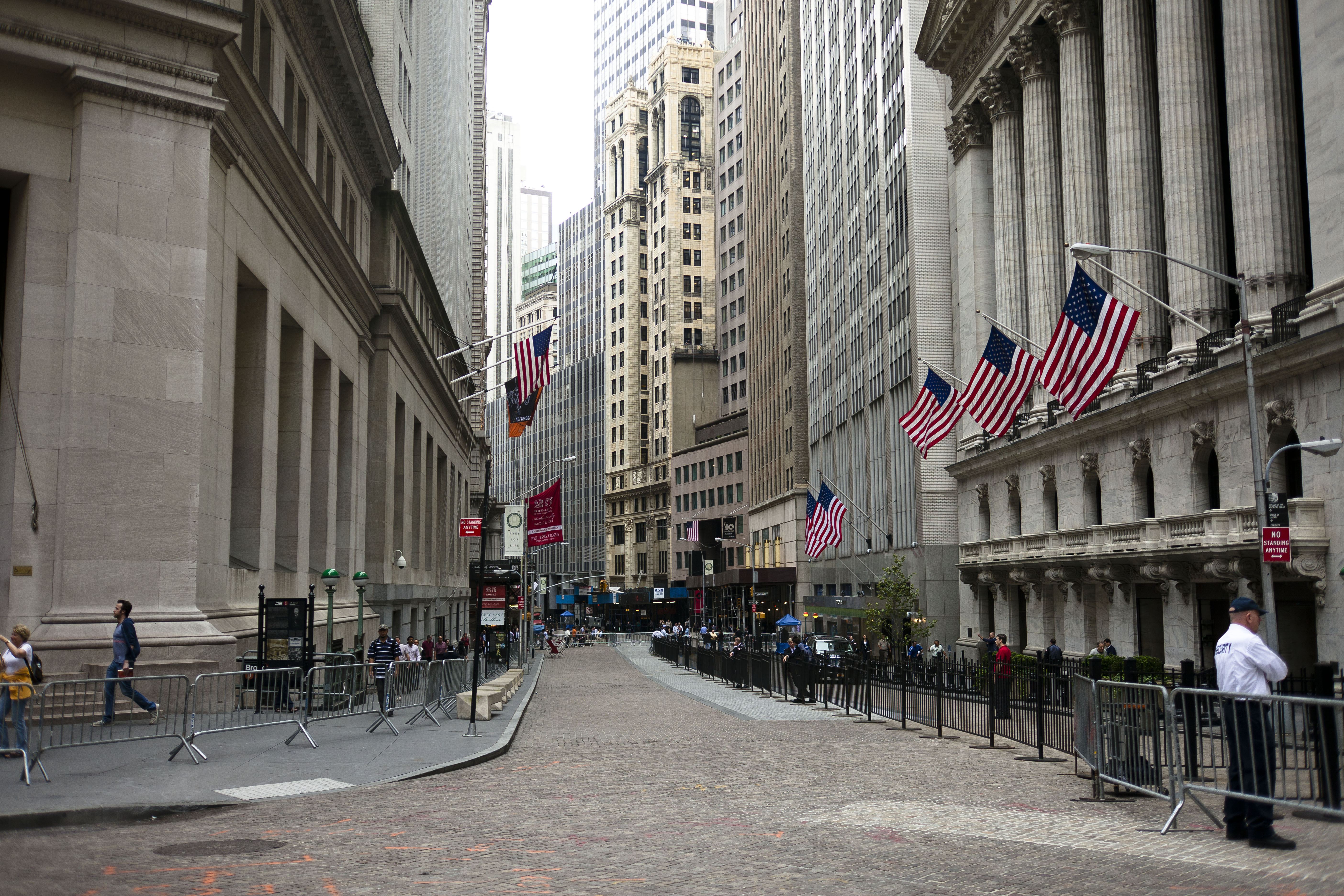 Wall Street - Road in New York City - Thousand Wonders