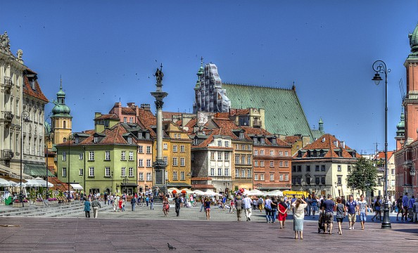 Castle Square, Warsaw Old Town - Warsaw