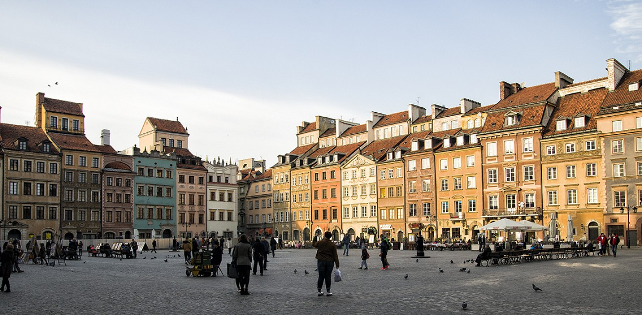 Warsaw Old Town - Warsaw