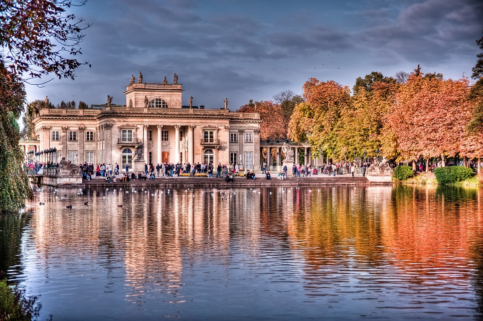 The Palace on the Water - RoyalŁazienki Museum in Warsaw - Warsaw