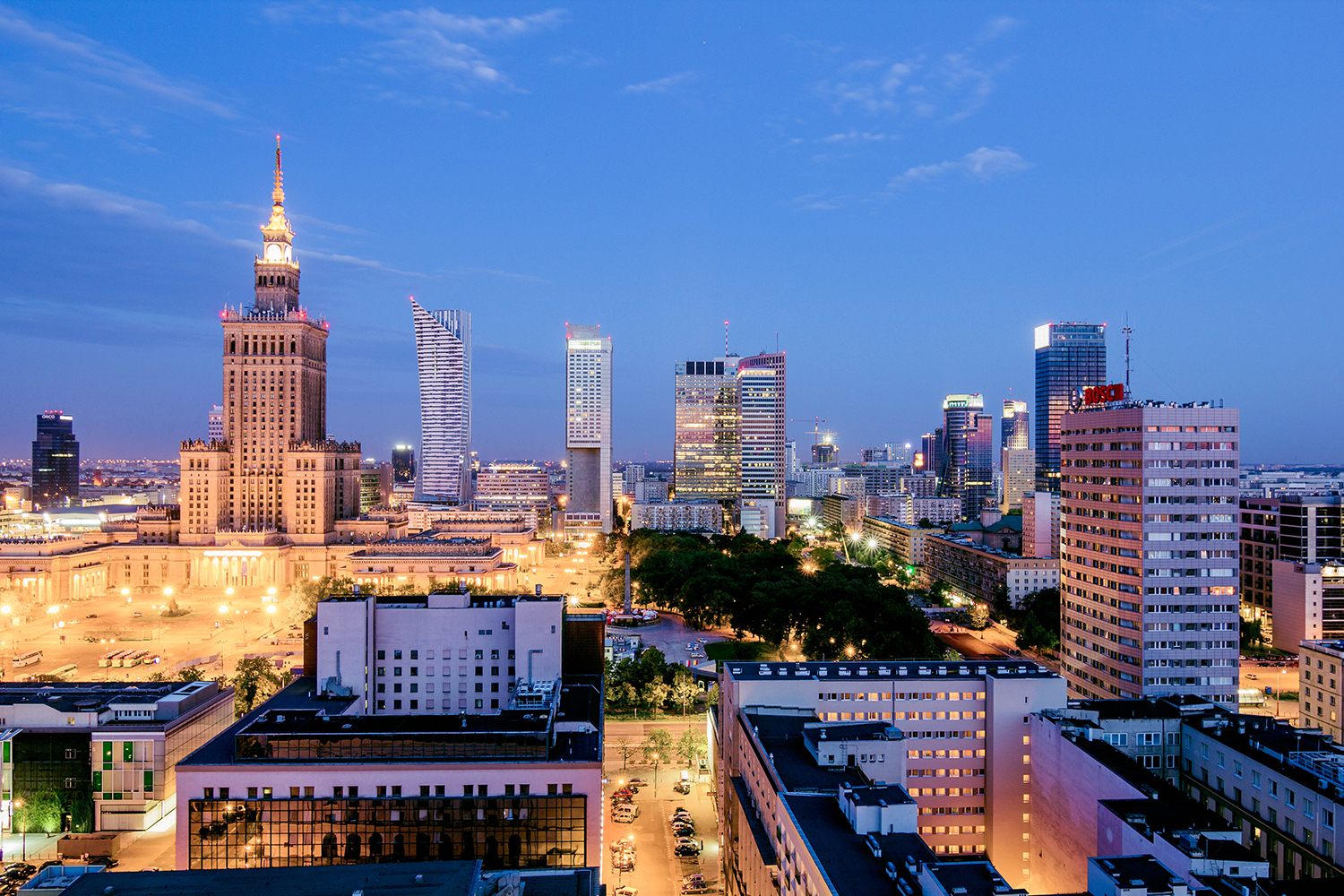 Warsaw - City in Poland - Thousand Wonders