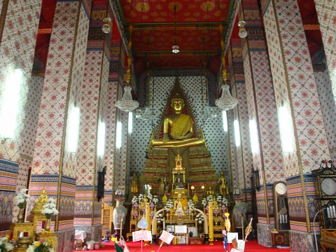 Interior of the Ubosot of