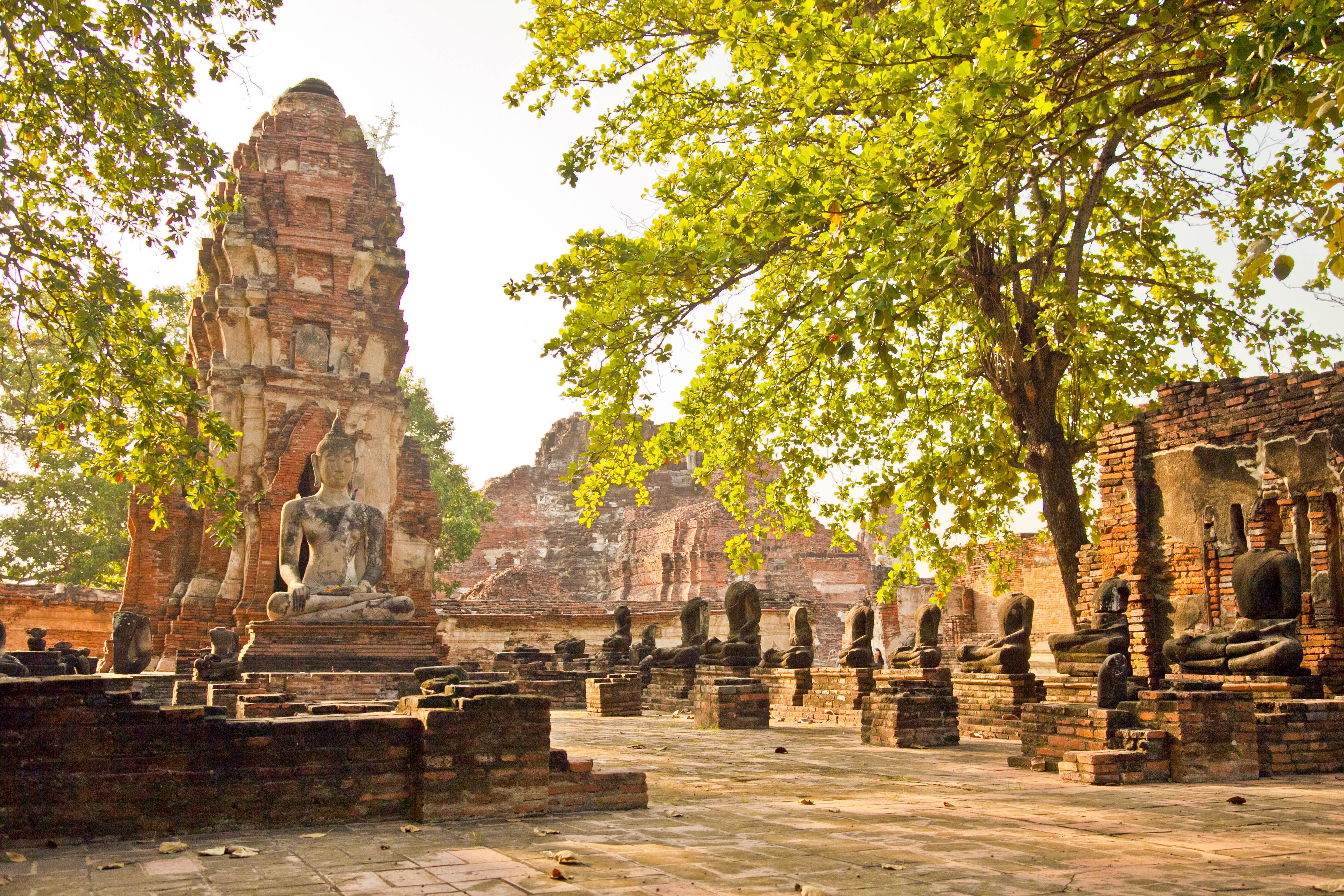 Ayutthaya Historical Park - Temple in Thailand - Thousand ...
