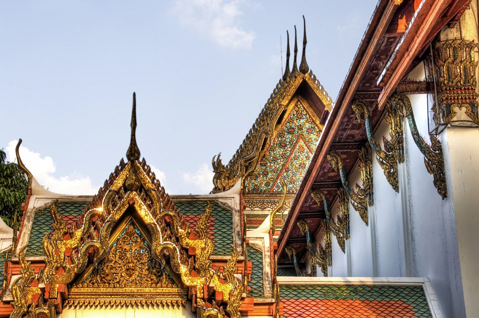 Buddhist Angles - Wat Pho