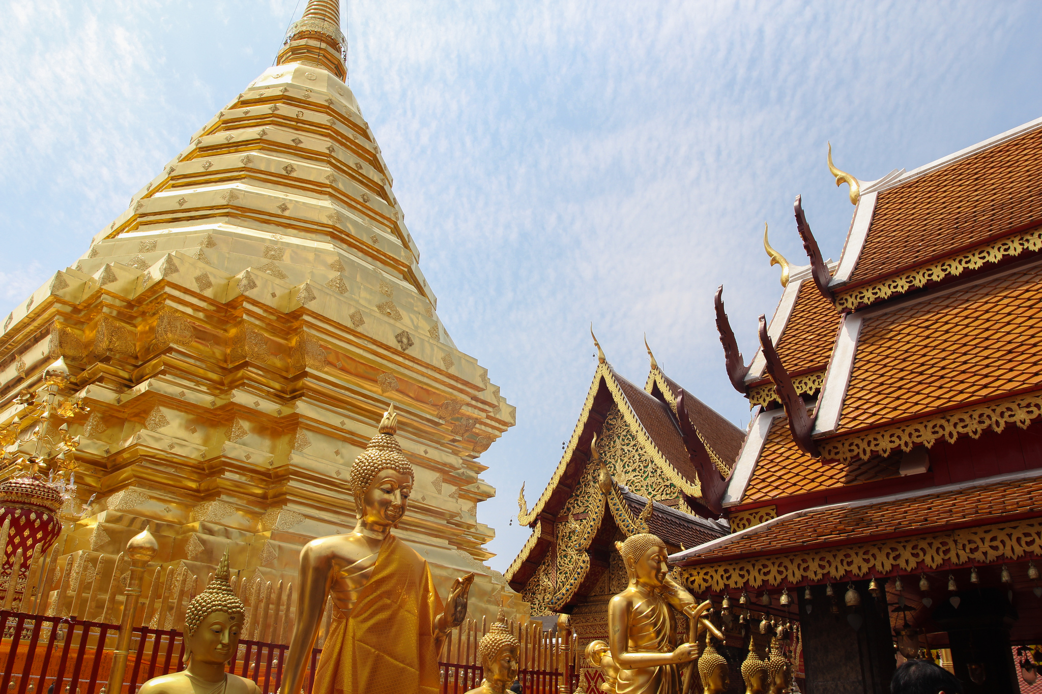 Wat Phra That Doi Suthep - Temple in Chiang Mai - Thousand ...