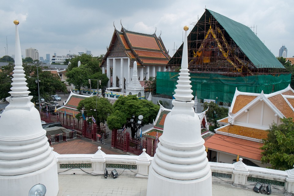 2014, November 9. View from Wat Prayun Wongsawat - Wat Prayoon