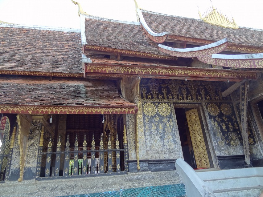 Mural Decorations - Wat Xieng