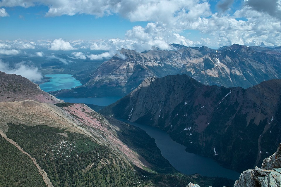 Waterton Lakes and Bertha Lake, WLNP, Alberta - Waterton Lakes National Park