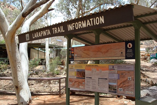 Larapinta Train - West