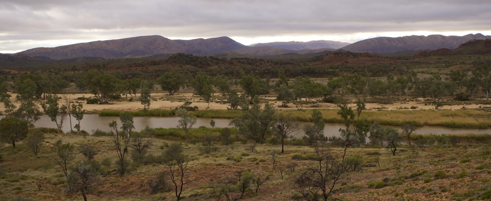 Time, Finke river, West MacDonnell Ranges, NT - West MacDonnell National Park