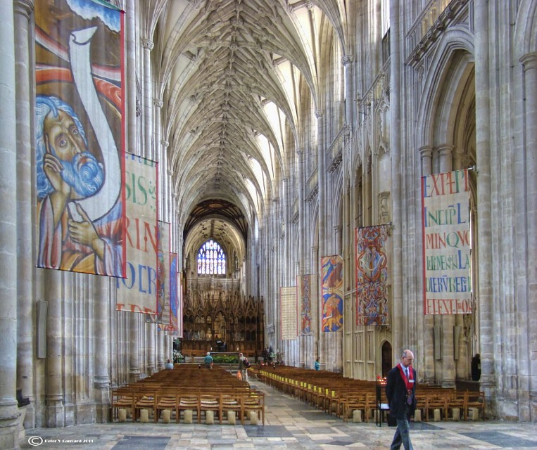winchester cathedral - church in england