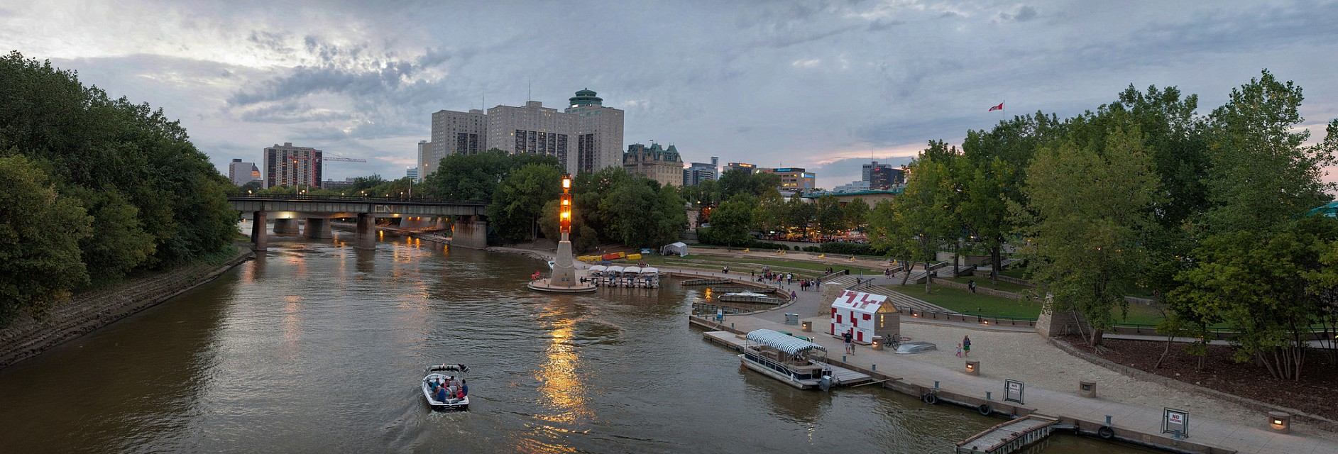 The Forks, Winnipeg, Manitoba - Winnipeg