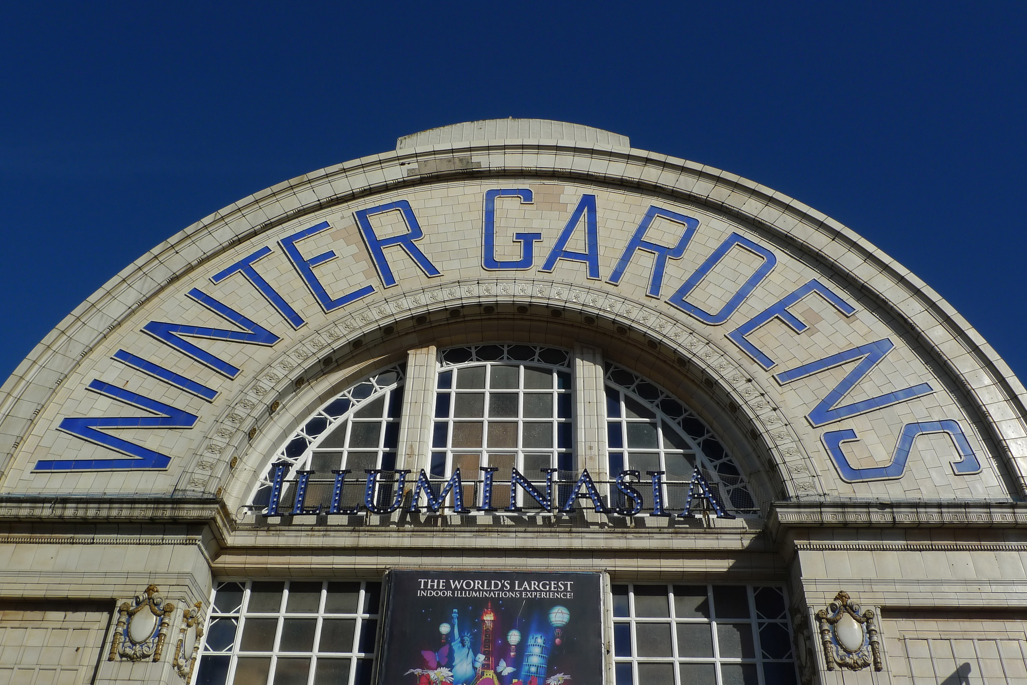 winter gardens public building in blackpool thousand wonders