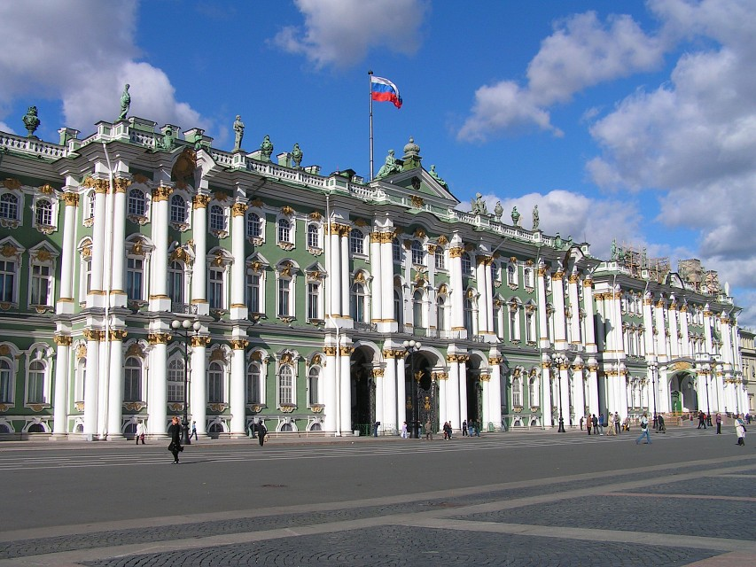 Winter Palace, The State Hermitage Museum, St Petersburg - Winter Palace