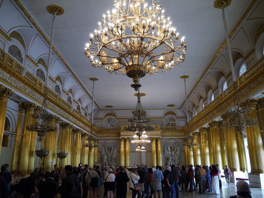 The Armorial Hall, The Winter Palace, The State Hermitage Museum, St. Petersburg - Winter Palace