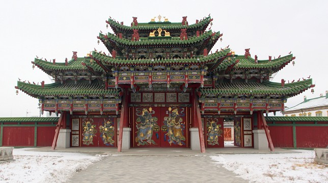 Winter Palace of the Bogd Khan