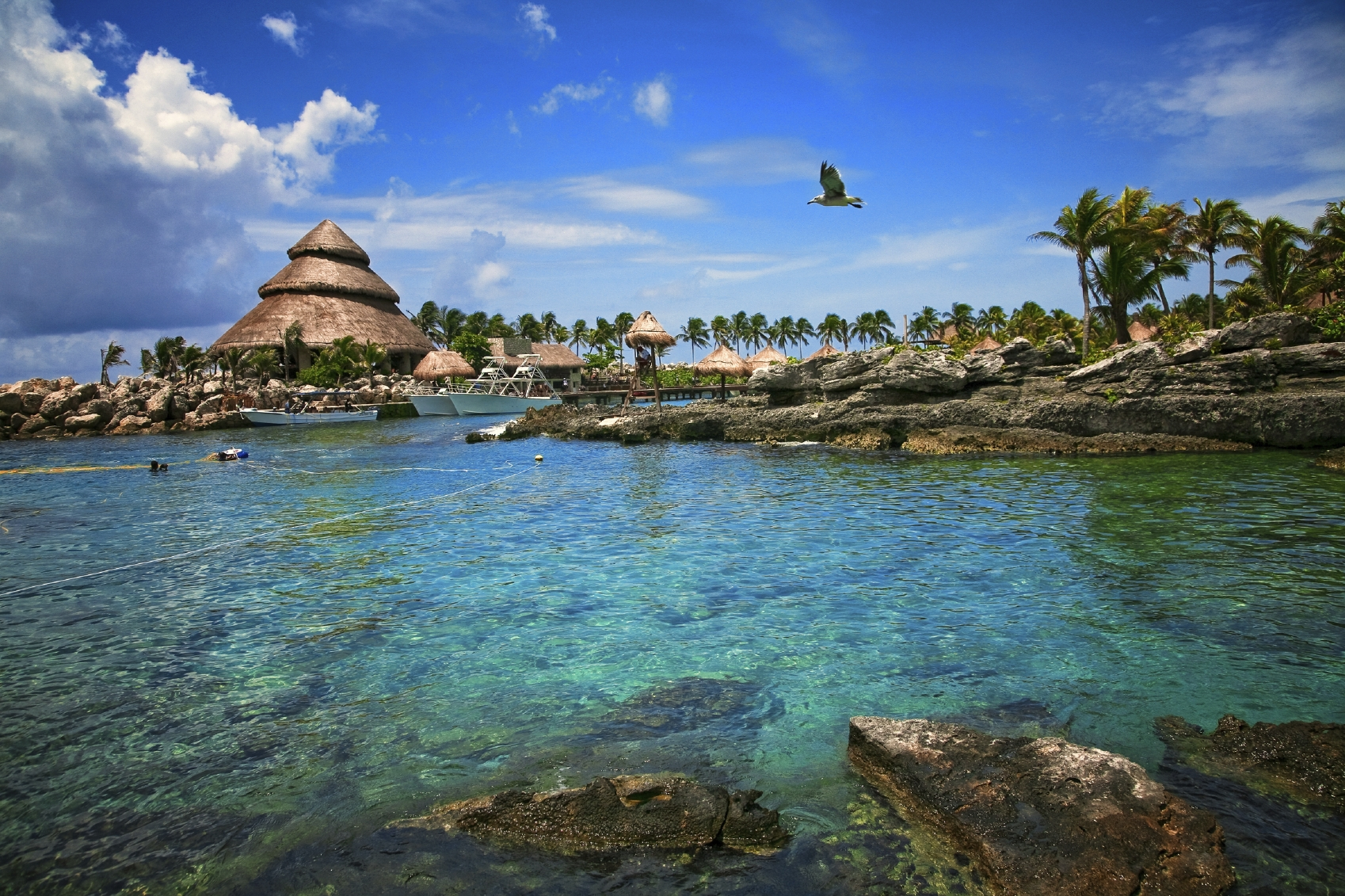 Xcaret Park - Beach in Mexico - Thousand Wonders