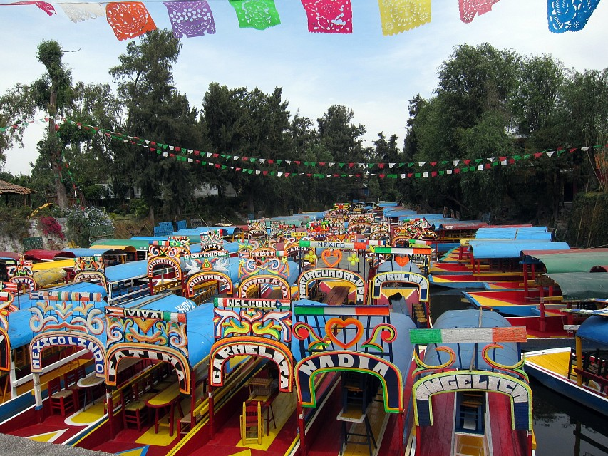 Colorful? Check - Xochimilco