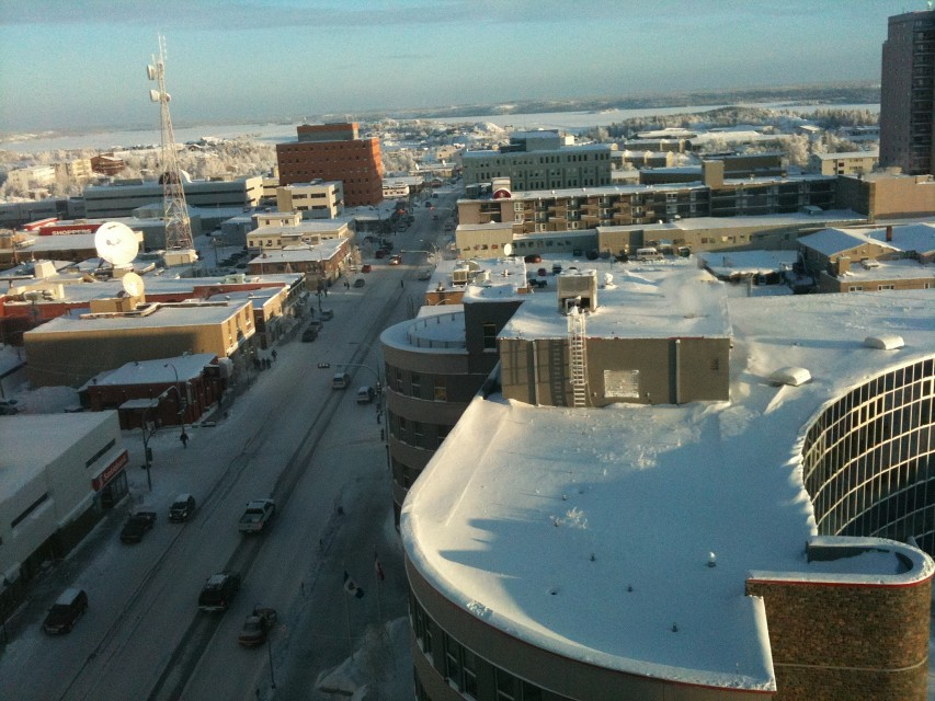 Downtown_Yellowknife - Yellowknife