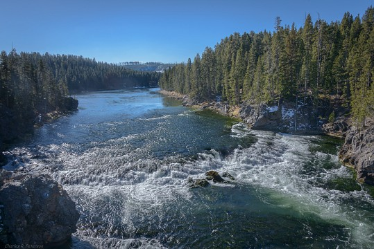Yellowstone River - Yellowstone National Park
