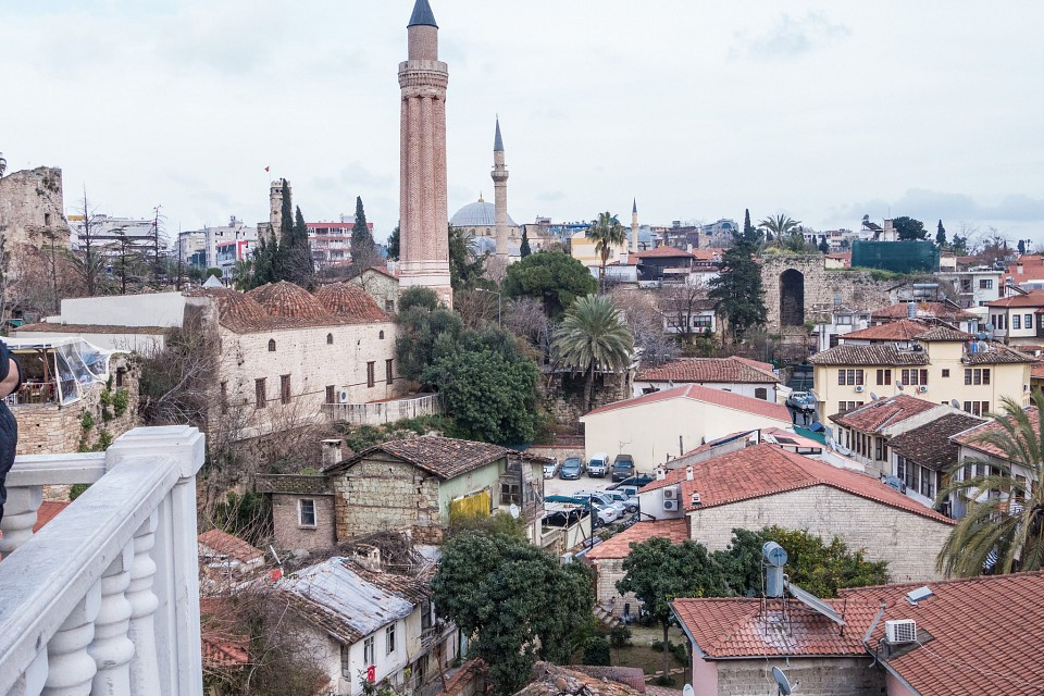 Around the old town, Antalya - Yivliminare Mosque