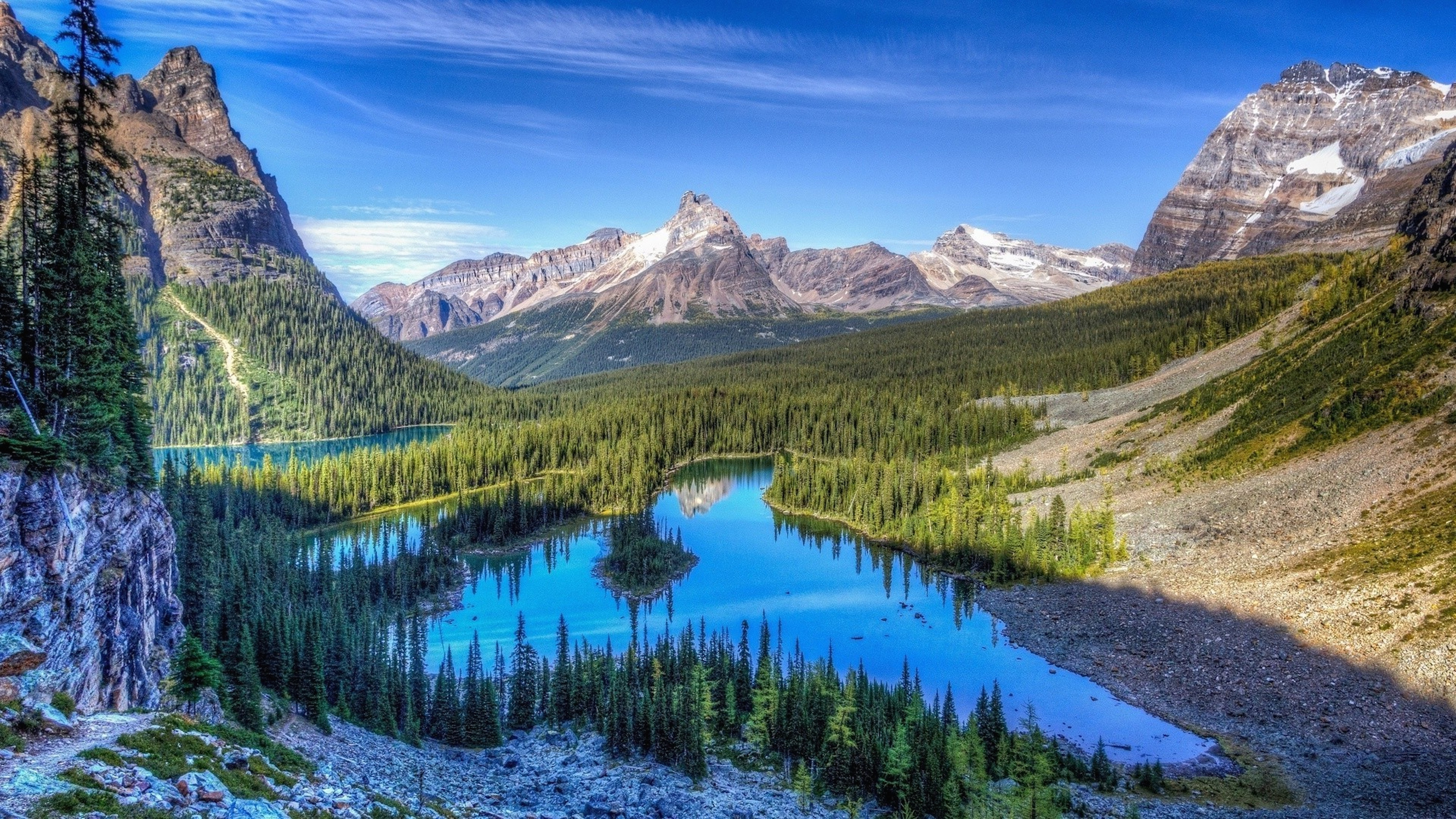 Yoho national park national park in british columbia for 3d wallpaper canada