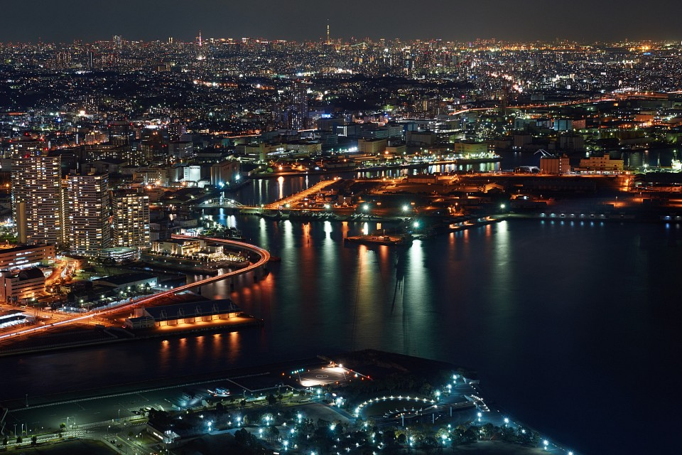 Yokohama Night View - Yokohama
