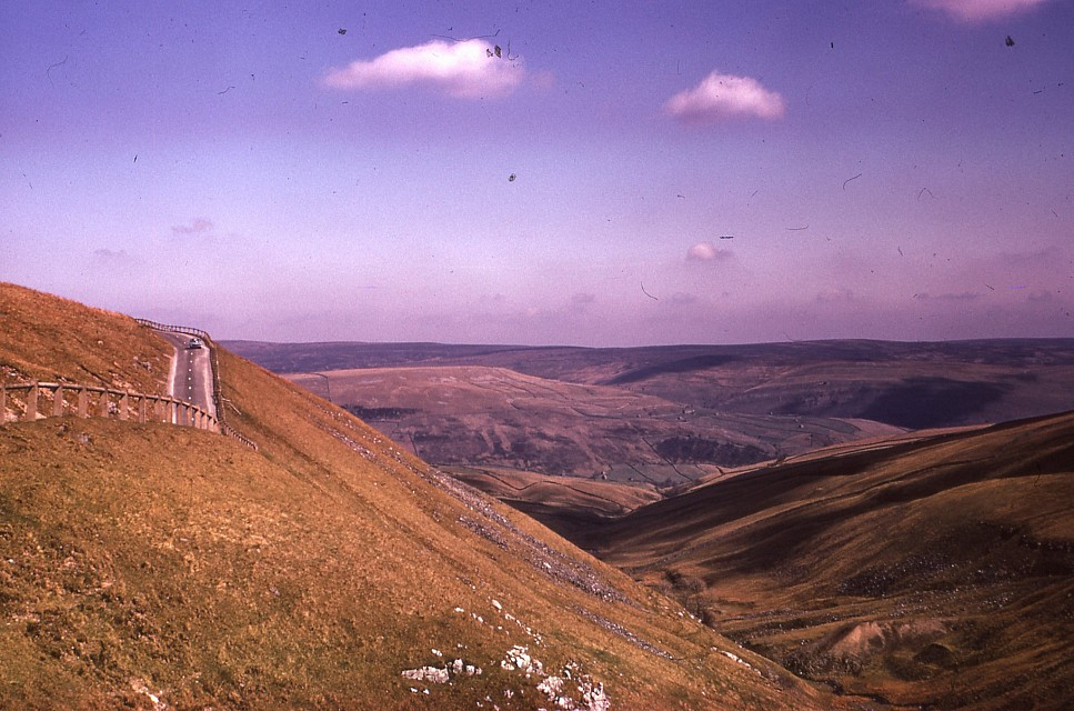 Buttertubs Pass, Yorkshire Dales National Park, October 1974. - Yorkshire Dales National Park