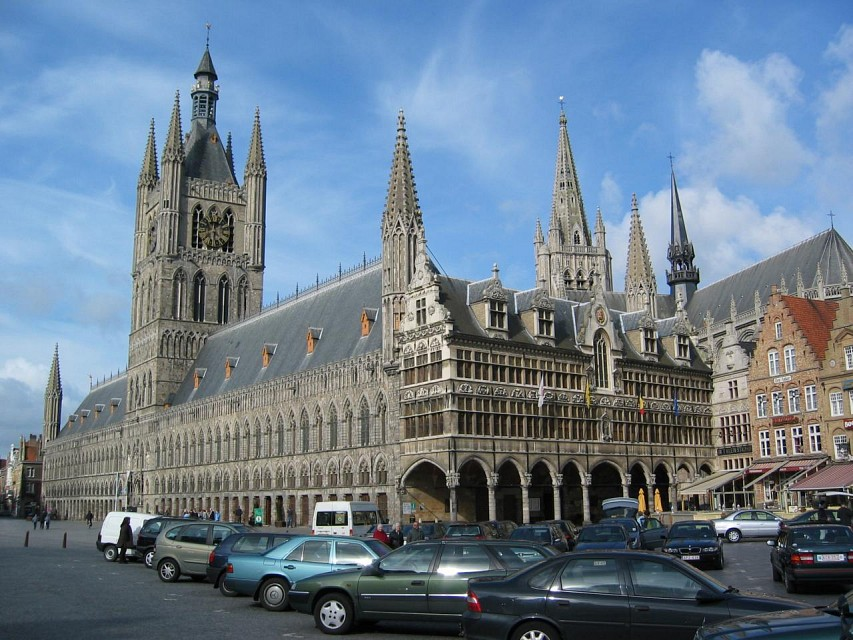 Cloth Hall, Ypres (Ieper) - Ypres Cloth Hall