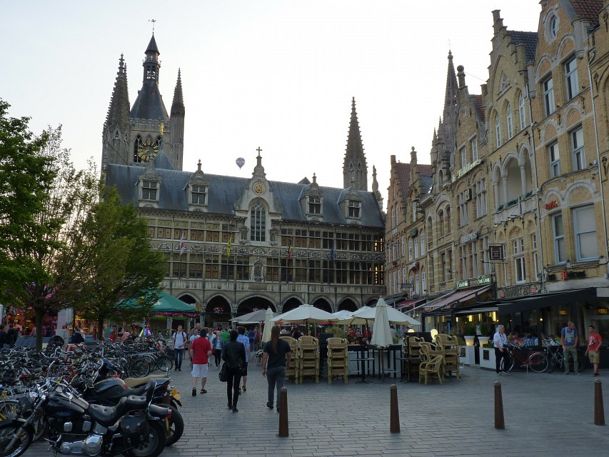 Ypres, Cloth Hall square (2) - Ypres Cloth Hall