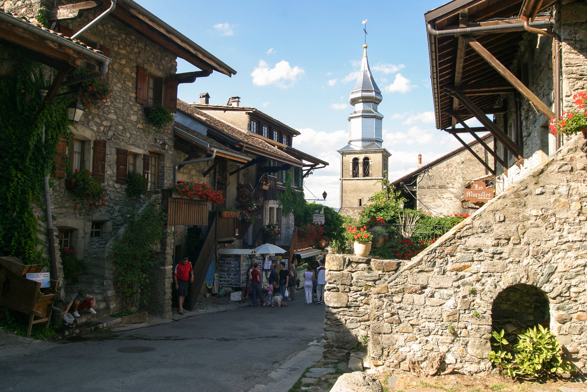 yvoire - village in france
