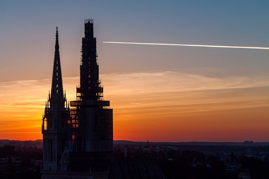 Zagreb Cathedral under