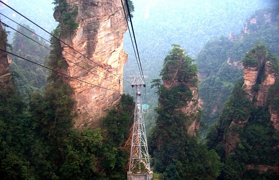 Zhangjiajie Scenic Area: