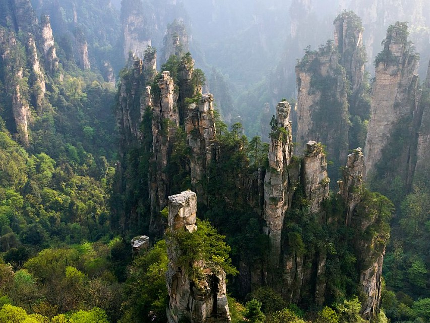 - Zhangjiajie National